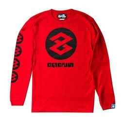 The King of Games Splatoon 2 Red Cuttlegear Long Sleeve T-Shirt