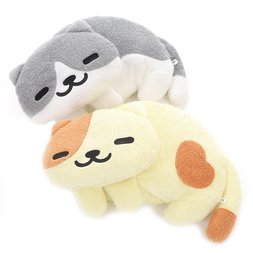 Neko Atsume Funwari Plush Cushions