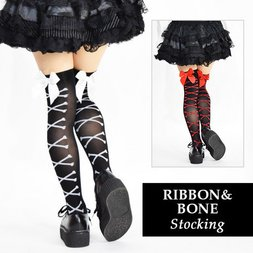ACDC RAG Ribbon & Bone Stockings