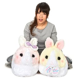 Usa Dama-chan Fuwamoko Ribbon Rabbit Plush Collection (Big)
