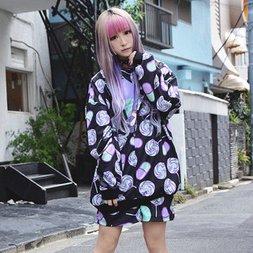 ACDC RAG Menhera-chan Yumekawa-chan Zip Hoodie