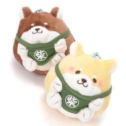 Chuken Mochi Shiba Manmaru Plushies (Ball Chain)