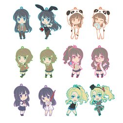 Nendoroid Plus: Rascal Does Not Dream of Bunny Girl Senpai Collectible Keychains Box Set