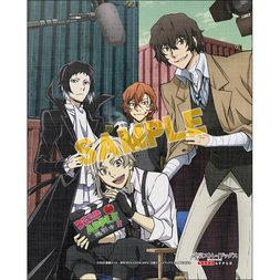 Bungo Stray Dogs: Dead Apple Art Canvas Board