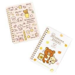 Rilakkuma Bakery B6 Spiral Notebooks