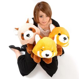 Yochi-yochi Lesser Panda-chan Red Panda Plush Collection (Big)