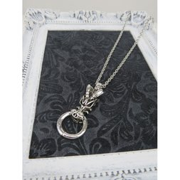 Dragon Ring Necklace