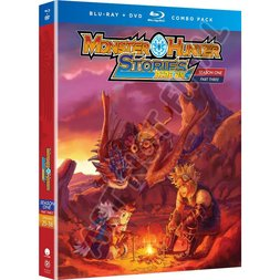 Monster Hunter Stories Ride On – Season One Part Three  BD Combo Pack