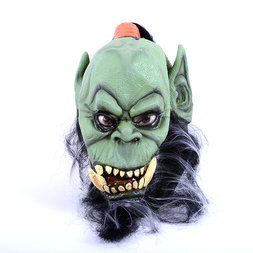 DLX Orc Mask with Beard | World of Warcraft