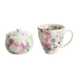Hana Kobo Mino Ware Mug & Candy Pot