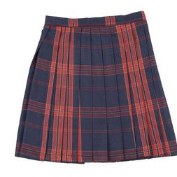 Teens Ever Navy Blue x Ruby High School Uniform Skirt