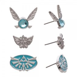 Legend of Zelda Earrings 3-Pack
