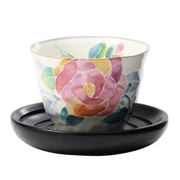 Hana Kotoba Rose Mino Ware Tea Set