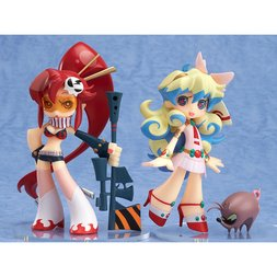 Twin Pack+: Gurren Lagann Yoko & Nia + Boota Panty & Stocking with Garterbelt Arrange Ver. (Re-run)