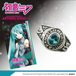 Hatsune Miku Motif College Ring