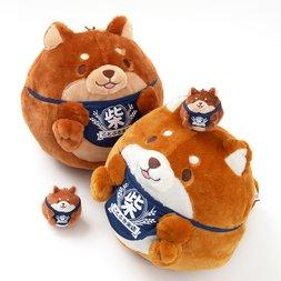 Chuken Mochi Shiba Round Plush Collection