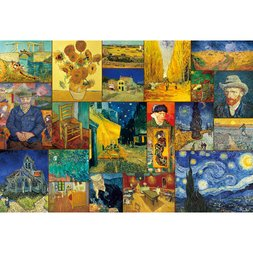 Van Gogh Selection 21 Jigsaw Puzzle