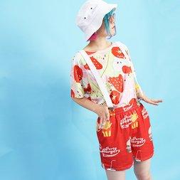 ACDC RAG Hamburger Shorts