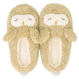 Fluffy Animals Room Shoes