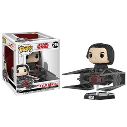Pop! Deluxe: Star Wars: The Last Jedi - Kylo Ren w/ TIE Fighter