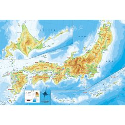 Japanese Map Jigsaw Puzzle