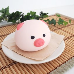 Mother Garden Hokahoka Nikuman Pig Nikuman Squeeze Toy