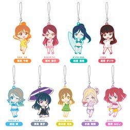 Nendoroid Plus: Love Live! Sunshine!! Swimsuit Ver. Collectible Rubber Straps Box Set