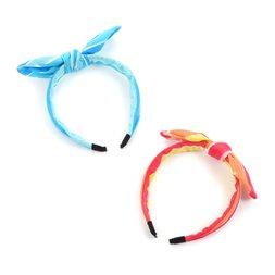 Le cocone Adult Resort Artsy Striped Ribbon Katyusha Headband