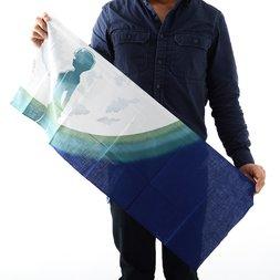 RumiRock x EVA Tsukini Ayanami Tenugui Hand Towel