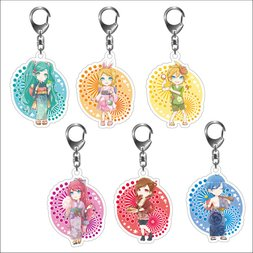 Hatsune Miku Summer Festival Acrylic Keychain Series: SD Ver.