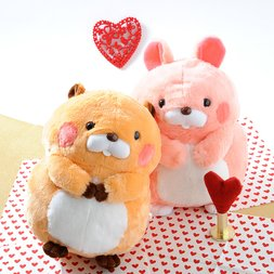 Plush Pairs: Beaver & Rabbit