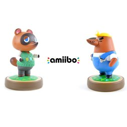 Animal Crossing Tom Nook amiibo w/ Free Mr. Resetti amiibo