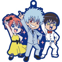 Gintama Night Fever Rubber Mascot