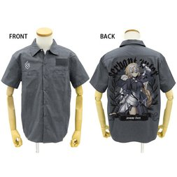 Fate/Grand Order Jeanne d'Arc Full-Color Gray Work Shirt