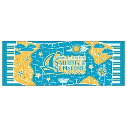Love Live! Sunshine!! Aqours 4th Love Live! -Sailing to the Sunshine- Big Towel