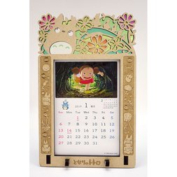 My Neighbor Totoro 2019 Stained Frame Calendar