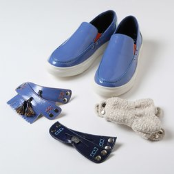 Marqui EVA Toy Slip-On Shoes (Blue)
