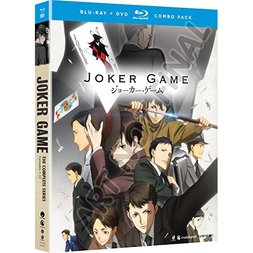 Joker Game: The Complete Series Blu-ray/DVD Combo Pack