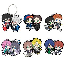 Buddy Colle Hypnosis Mic -Division Rap Battle- VS Ver. Trading Rubber Mascots Box Set