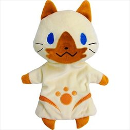 Monster Hunter X Felyne Puppet Plush