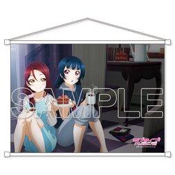 Love Live! Sunshine!! Cover Girl General Election Riko Sakurauchi & Yoshiko Tsushima B2-Size Tapestry