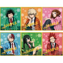 My Hero Academia Mini Shikishi Board Collection -Warm Hanten- Box Set