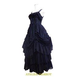 Atelier Pierrot Long Bustle Lace-Up Jumper Skirt