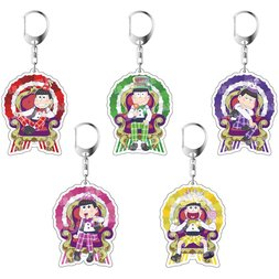 Osomatsu-san Birthday Ver. Acrylic Keychain Charm Collection