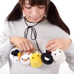 Tsuchineko Higebukuro Cat Plush Collection (Ball Chain)