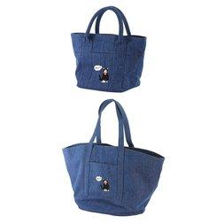 Denim Cat Tote Bag