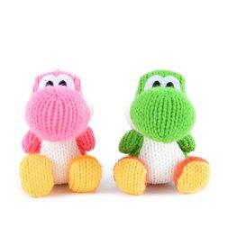 amiibo: Yoshi's Woolly World - Green Yarn Yoshi & Pink Yarn Yoshi (Set of 2)