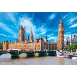 Palace of Westminster: Big Ben Jigsaw Puzzle