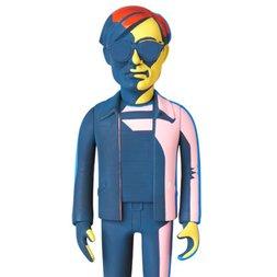 Vinyl Collectible Dolls No. 234: Andy Warhol (Silkscreen Green Ver.)