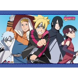 Boruto Group 3 Wall Scroll